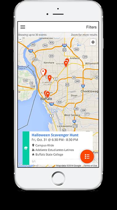 Corq Mobile App displayed on iPhone 6
